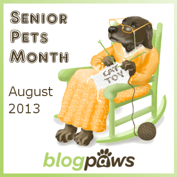 Senior pet month