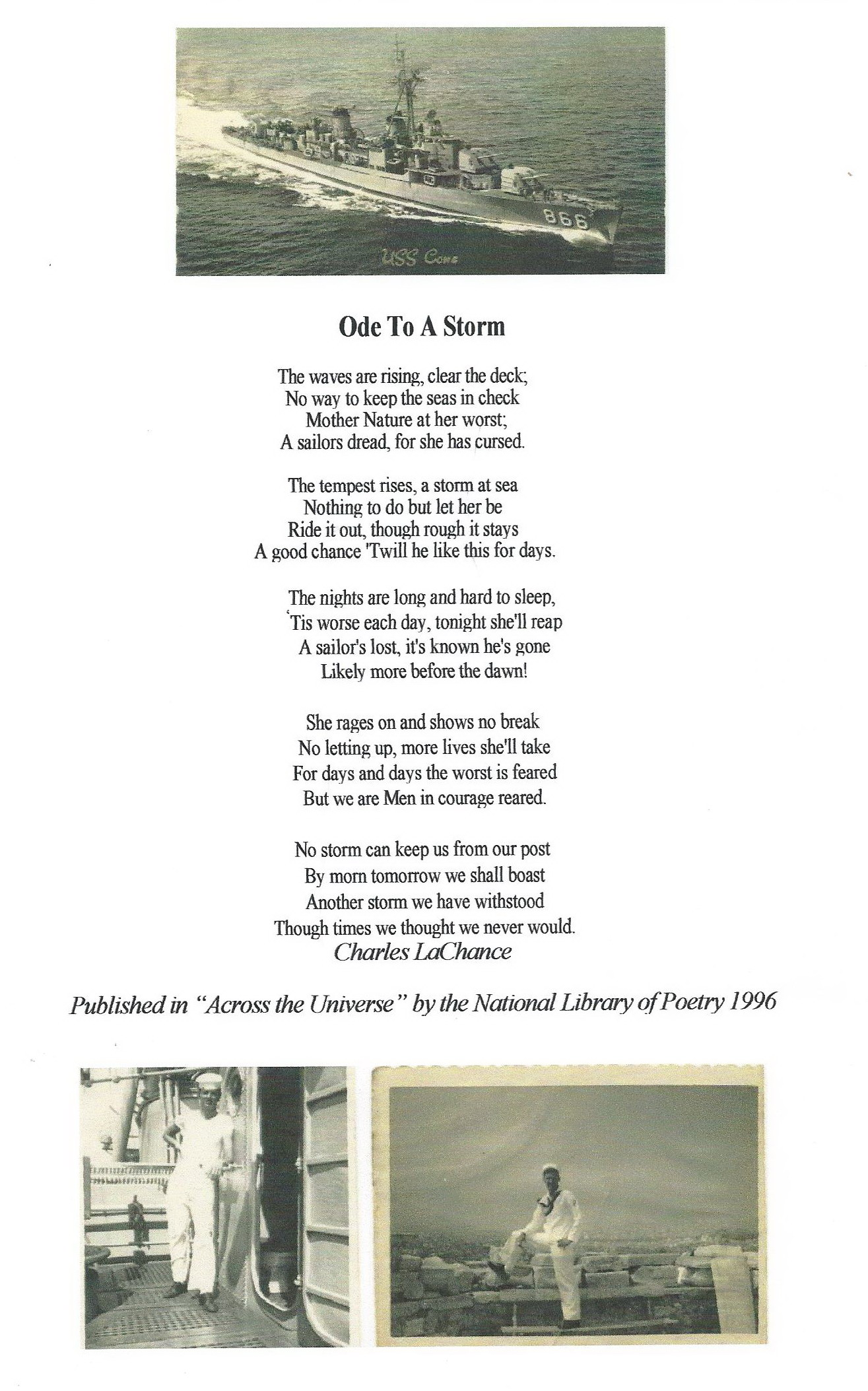 Ode to Storm