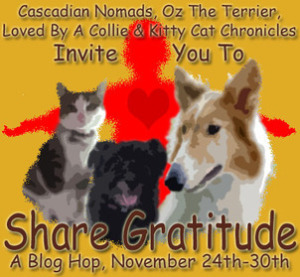 Share gratitude badge