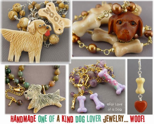 for love of dog jewelry