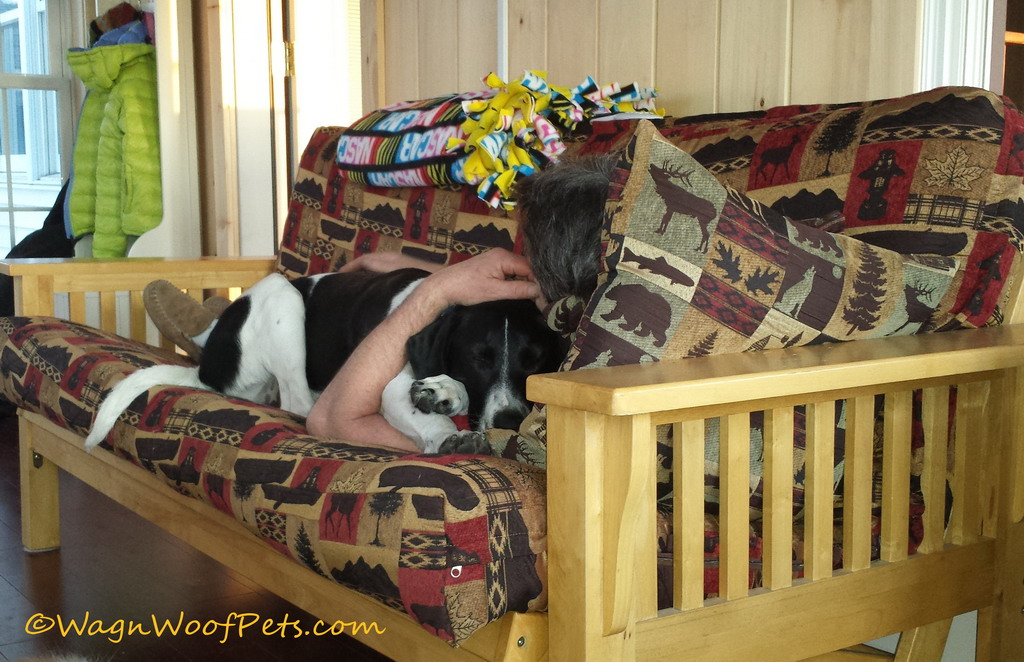 Wordless Wednesday - Snuggle Bug.  Wag'n Woof Pets