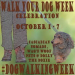 Coming October 1st: Walk Your Dog Week Celebration #DogWalkingWeek