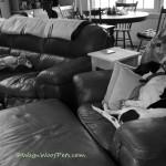 Mother's Day Joy – Black & White Sunday