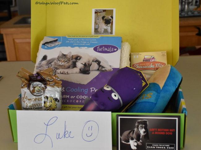 Pet Treater September Subscription Box