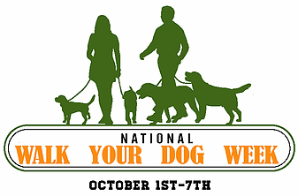 Nat'l Walk Your Dog Week