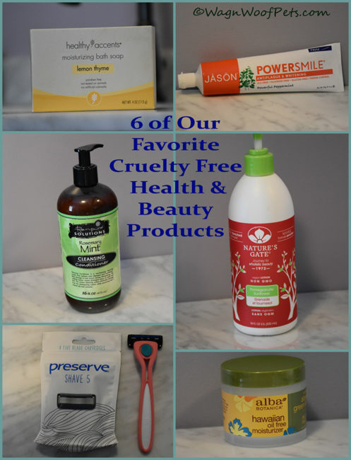 6 of Wag 'n Woof Pets Favorite Cruelty Free Beauty Products