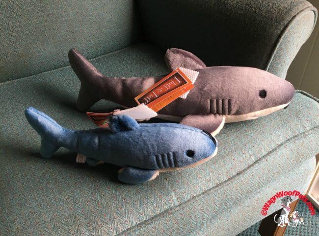 Sharks! From Fluff 'n Tuff