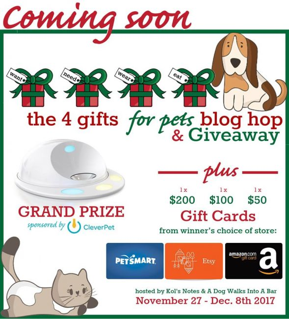 Coming Soon 4 Gifts 4 Pets