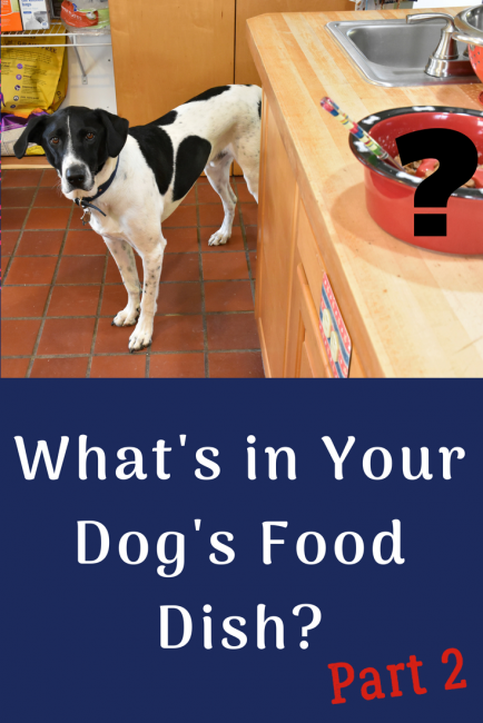What's in your dog's food dish? Part 2