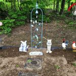 Pet Memorial Garden Update on Flower Friday