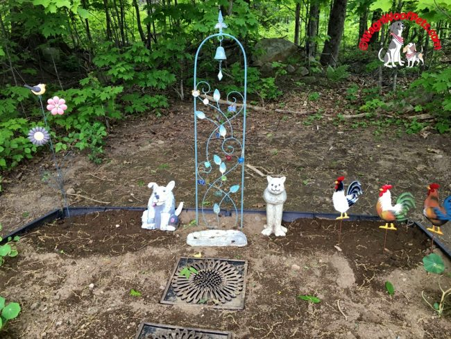 Pet Memorial Trellis