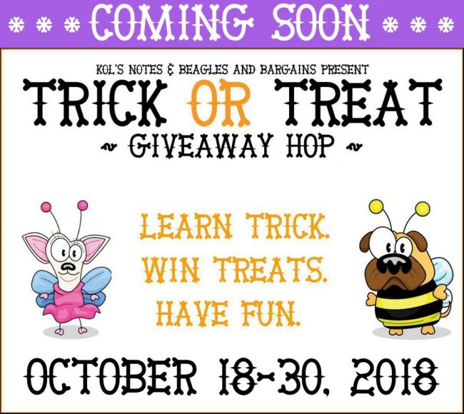 Trick or Treat Giveaway Hop Coming Soon