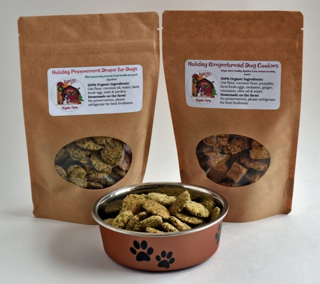 100% Organic Dog Treats