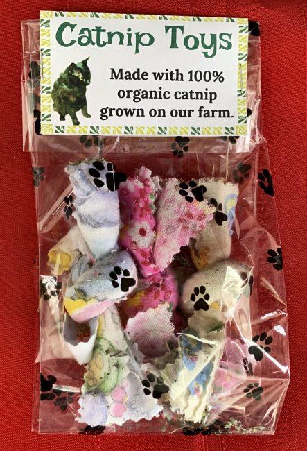 Organic Catnip Toys