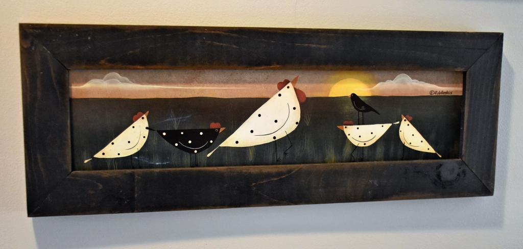 Whimsical Chicken Art