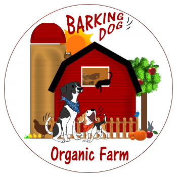 Barking Dog Organic Farm Logo