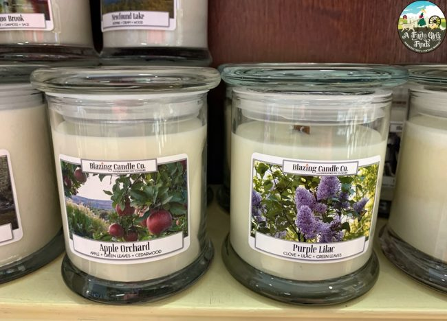 Blazing Candle Co. Soy Candles